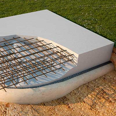 Плитный фундамент под ключ