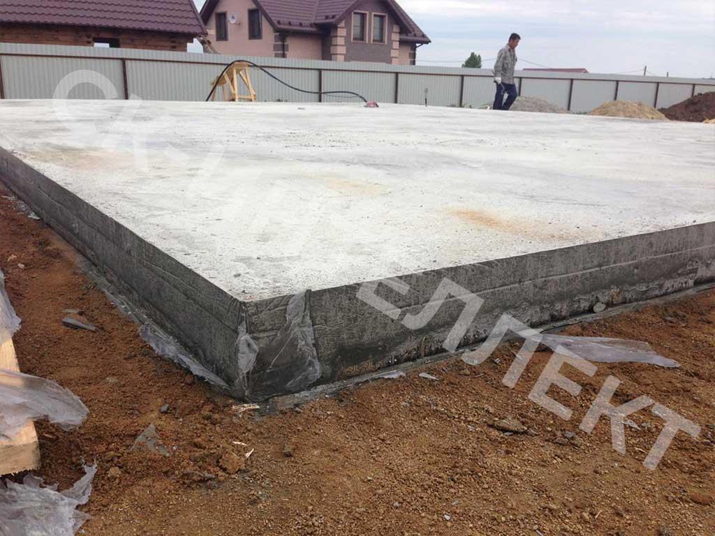 Фото 8 - строительство фундамента