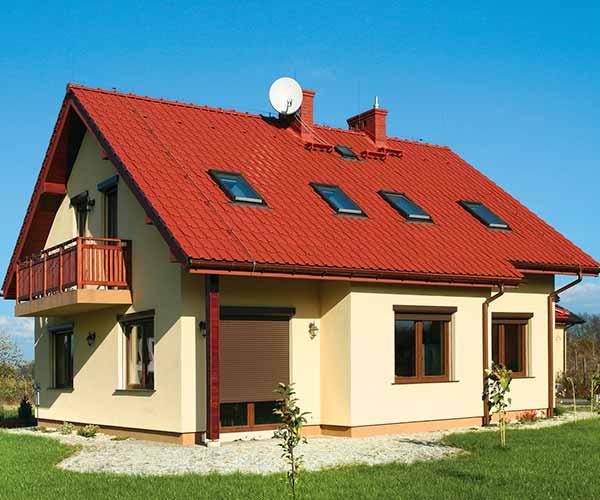 Строительство двухскатной крыши