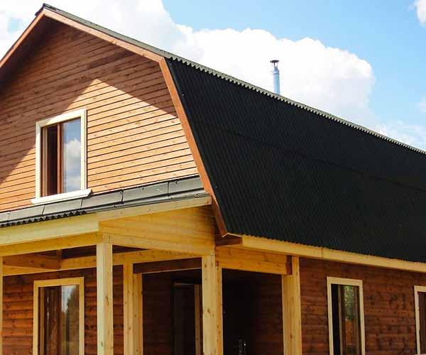 Строительство ломаных крыш
