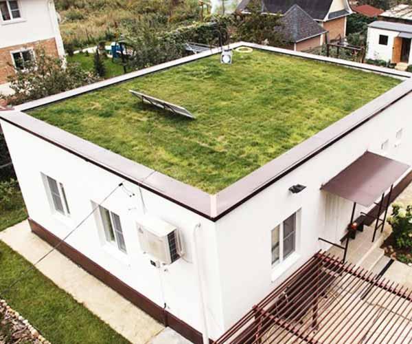 Строительство плоской крыши