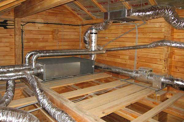 Проводим монтаж системы вентиляции в загородном доме
