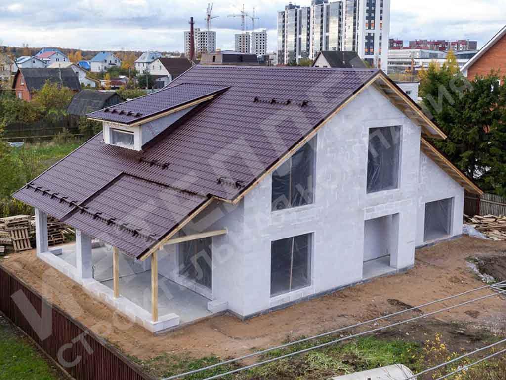 Дом из пеноблока - фото 4