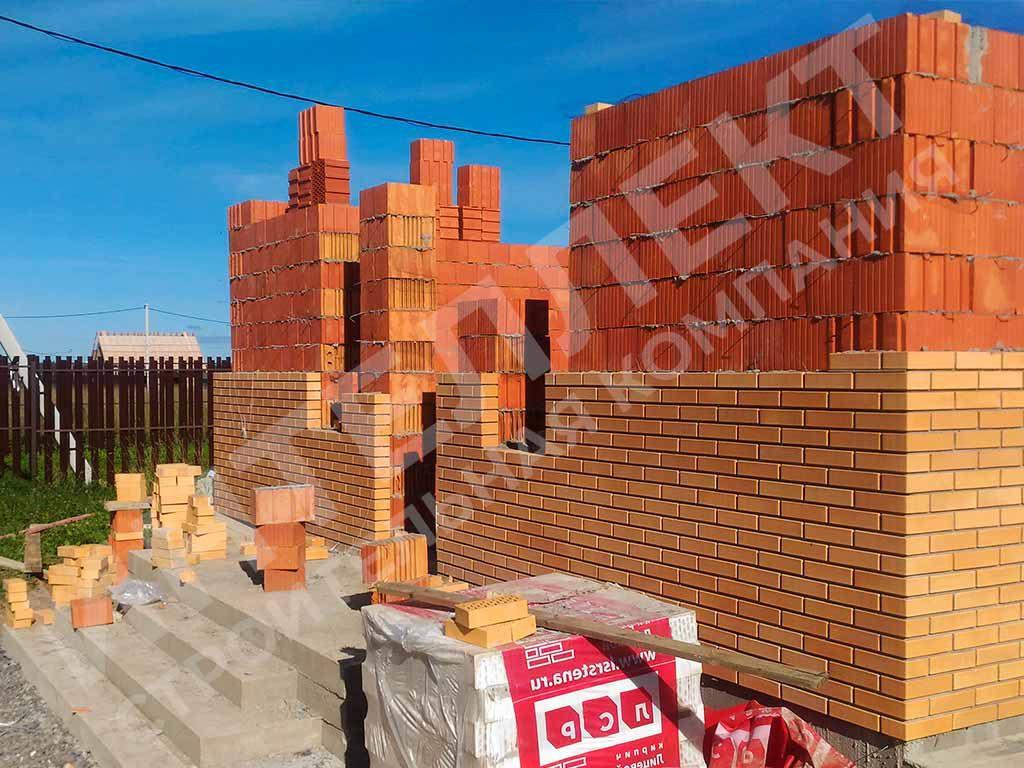 Строим дом из керамического блока на два этажа