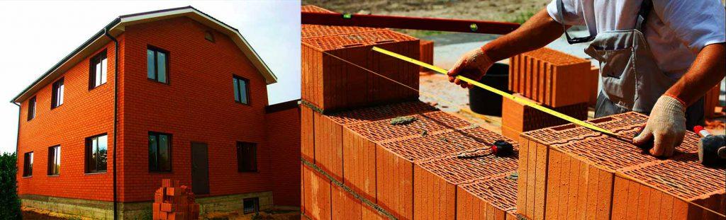Строительство дома из керамоблока