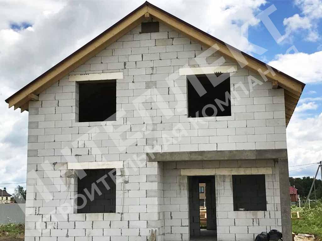 Строительство дома из твинблоков в Свердловской области