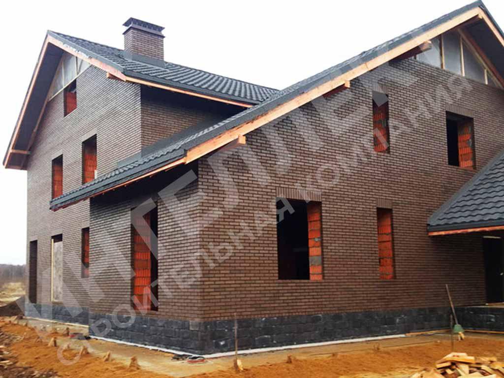 Строительство коттеджа из керамических блоков в Свердловской области