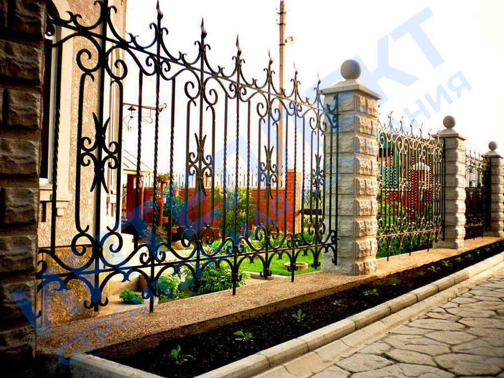 Ковыный забор от СК Интеллект в Свердловской области