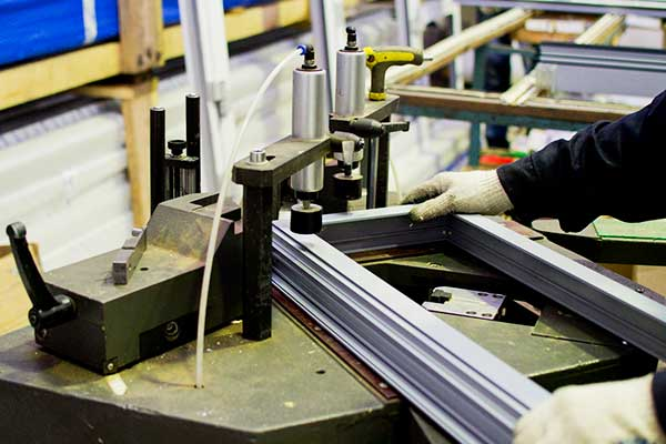 Производство рамы для будущего окна
