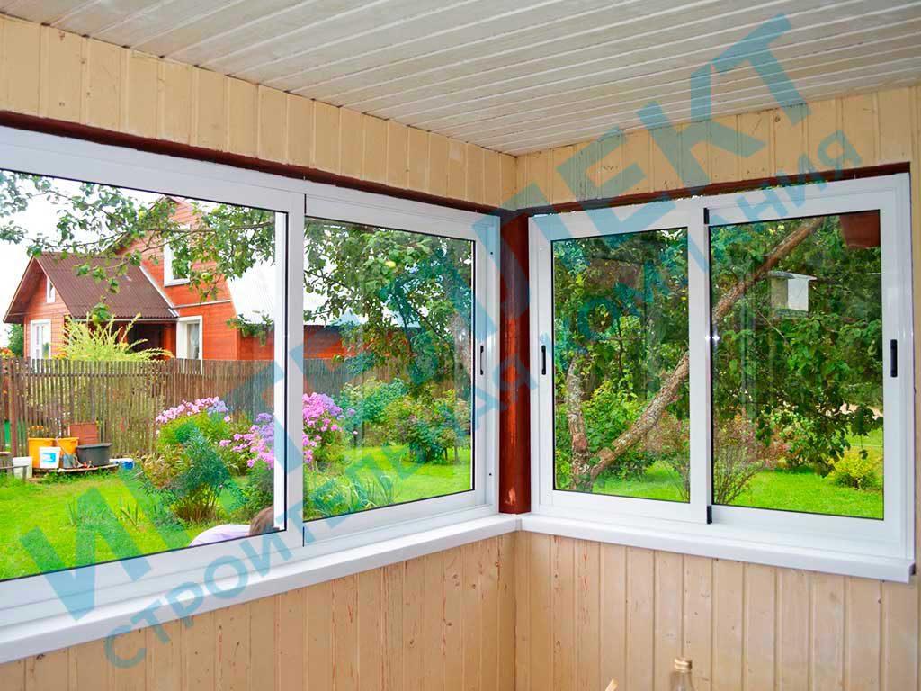 Установка пластиковых окон на даче в Свердловской области