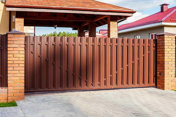 Ворота для забора