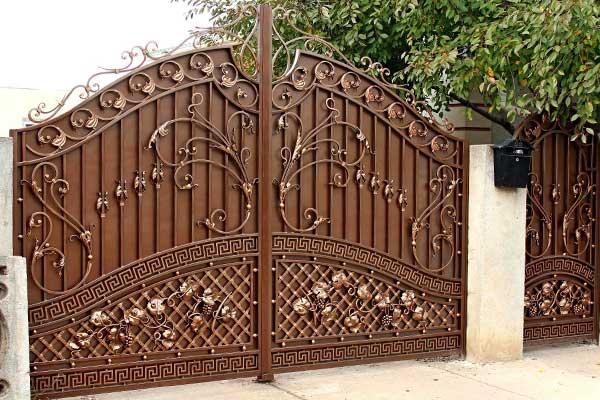 Ворота установлены и готовы к использованию