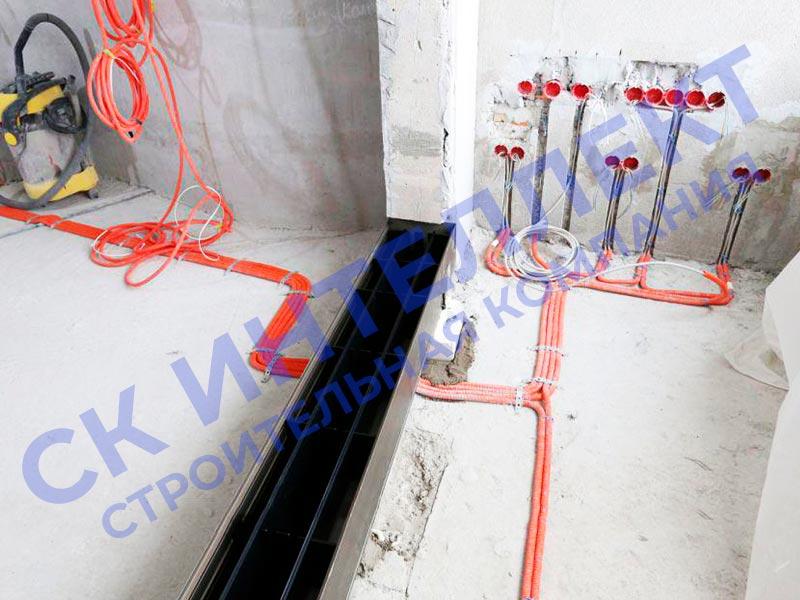 Электрика в частном доме в Екатеринбурге - ул. Коммунистическая