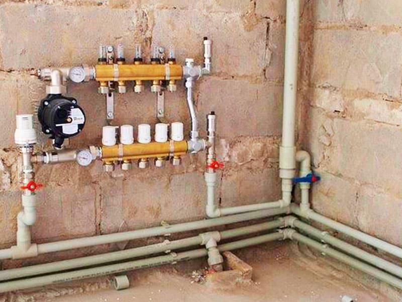 Монтаж отопления и особенности установки