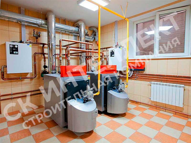 Монтаж отопления в частном доме - Екатеринбург, ул. Проезжая