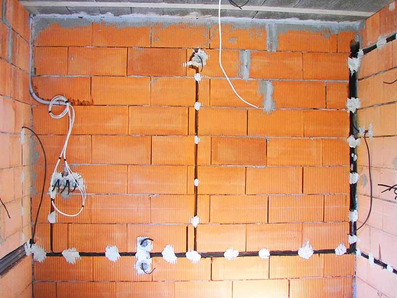 Разводка проводки в доме