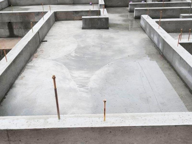 Цена фундамента типа монолитная плита