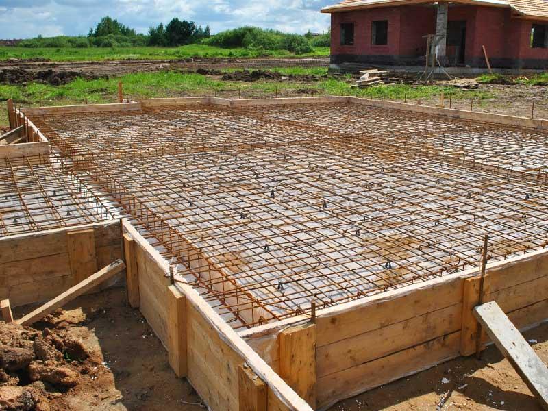 Строительство фундамента под дом по проекту