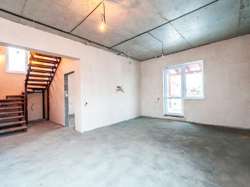 Внутренняя отделка построенного дома в Екатеринбурге