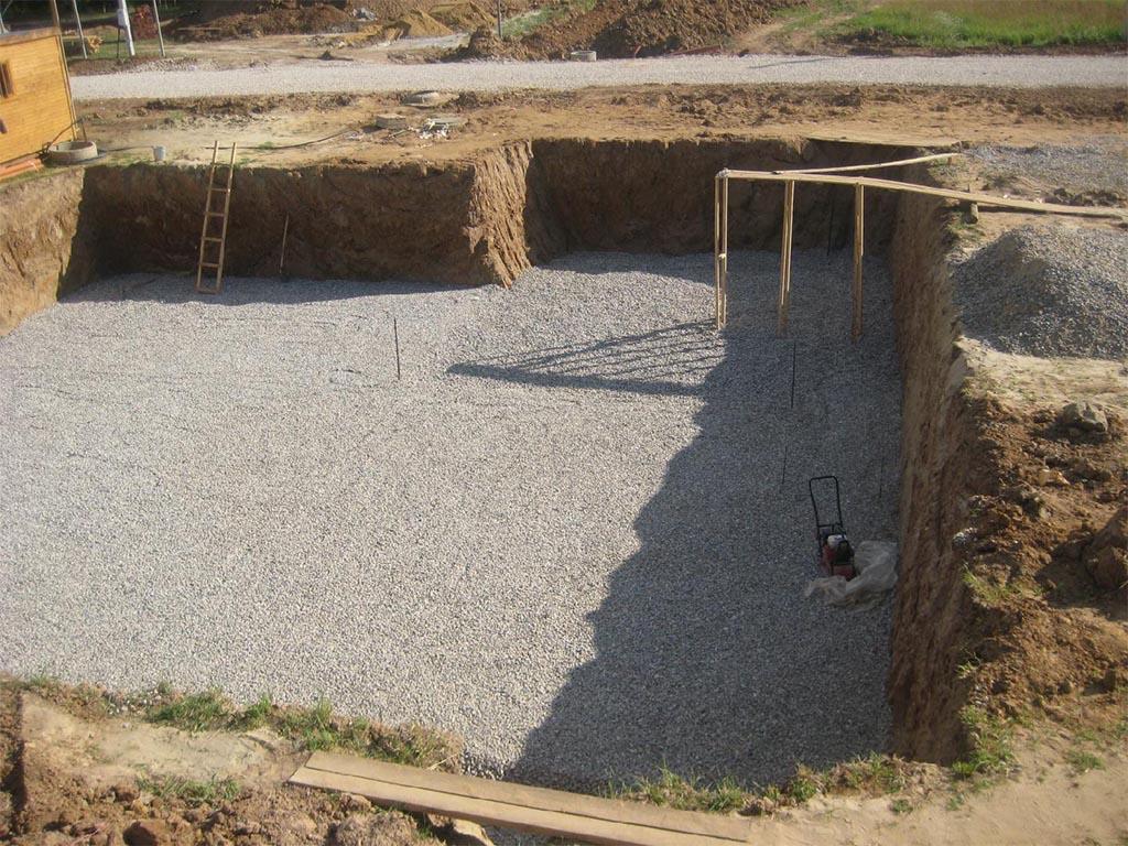 Технология строительства фундамента с цокольным этажом