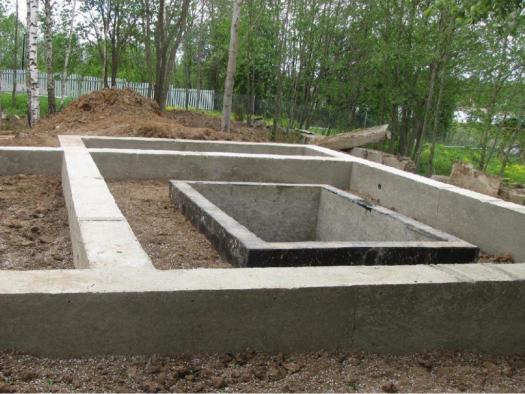 Технология строительства фундамента с погребом